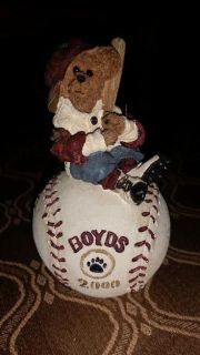 Boyds & Bear Baseball 2000 Figurine