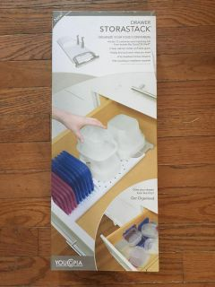Drawer Organization For Plastic Containers