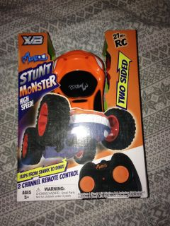 NEW Stunt Monster two sided remote control car