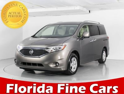 2016 Nissan Quest 3.5 S (gray)