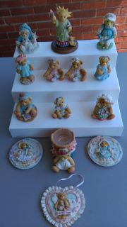 Cherished Teddies collection 14 pc