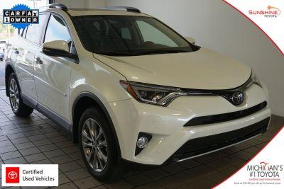 2018 Toyota RAV4 Limited (Blizzard Pearl)