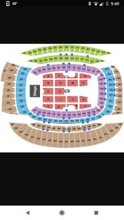 Ed Sheeran tickets, soldier field in chicago, Oct. 4th at 7pm