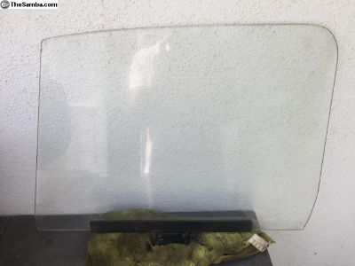 Side window glass OEM, 1968 Bug
