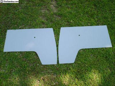 New Commercial Grey Front Door Panel Set 55-67