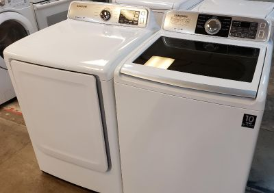 Samsung washer and dryer Excellent conditions (electric)