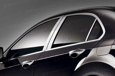 Buy SES Trims TI-P-213 09-11 Acura TSX Door Pillar Posts Window Covers Trim 6 Pcs 3M motorcycle in Bowie, Maryland, US, for US $63.70