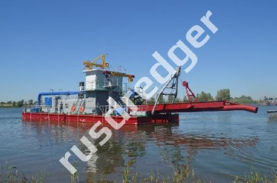 Dredger 2000 by URAL HYDROMECHANICAL PLANT, CJSC