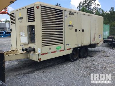 2010 Doosan HP1600WCU Air Compressor