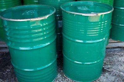$25 Deer Feeder Drum Barrel Protein Atlanta Georgia 55 Gallon Steel Metal Food Grade