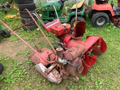 Antique rotary tiller
