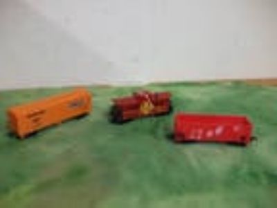 ( 3 ) H O Life-Like Rolling Stock Cars Box car Gondola &