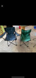 2 camp chairs