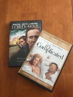 DVD $3.00 for both