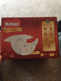 Unopened Box of Diapers