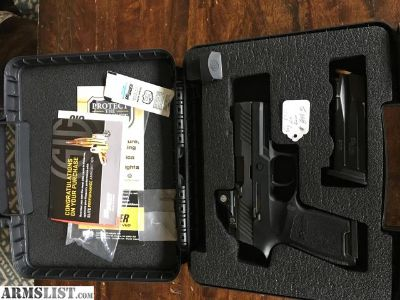 For Sale: Sig P320 RX 9mm