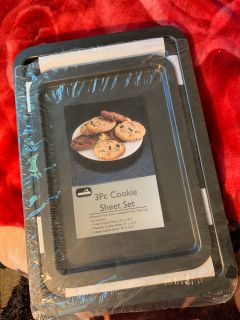 3 pieces cookie sheet new