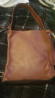 Hand made all leather shoulderbag