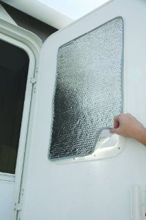 Find NEW RV Trailer Window Door Cover Sun Shield Reflective UV Protector Windshield motorcycle in Miami, FL, United States, for US $10.53
