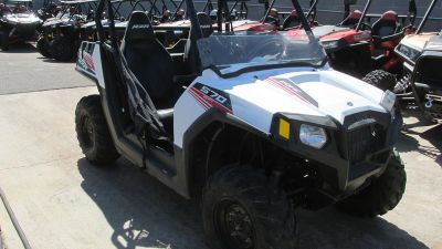 $9,600, 2016 Polaris RZR 570 White Lightning LE