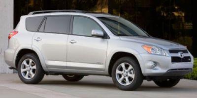 2010 Toyota RAV4 Limited (White)