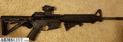 For Sale: PSA AR15 w/optics, mags, case