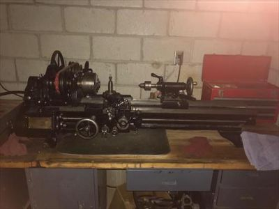 1929 South Bend metal lathe