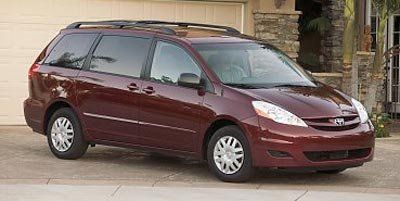 2008 Toyota Sienna CE 7-Passenger (Salsa Red Pearl)