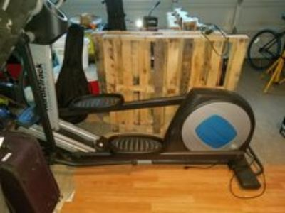 Nordic track elliptical machine