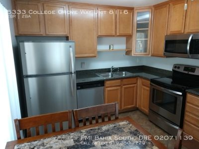 Updated 2 Bedroom 1.5 bath College Grove Townhouse - End Unit