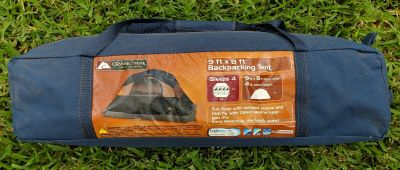 New: Ozark Trail Backpacking Tent