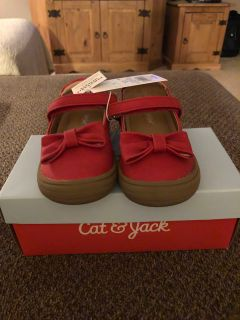New Cat & Jack Red Maryjanes