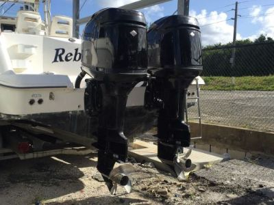 "Purchase TWIN PAIR MERCURY OPTIMAX 225+HP 30"" SHAFT 2004 OUTBOARD ENGINE Wholesale trade! motorcycle in Jupiter, Florida, United States"
