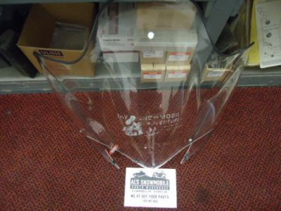 Purchase 2007-13 Yamaha Venture Lite Windshield, Clear 8GJ-K7210-00-00 motorcycle in Newport, Vermont, United States, for US $60.00