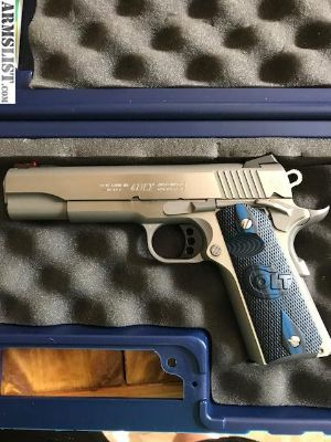 For Trade: Colt Competition Series 70 Stainless Steel
