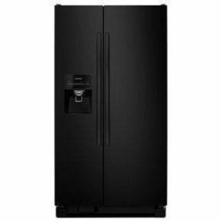 Amana 21.2 cu. ft. Side By Side Refrigerator Black *Closeout*