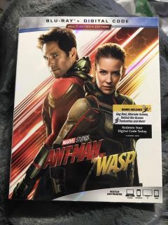 Ant-Man and the Wasp blu ray