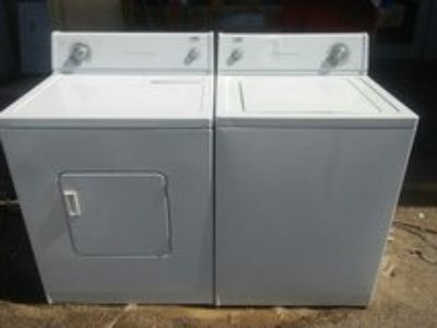 Estate by whirlpool washer and electric dryer set