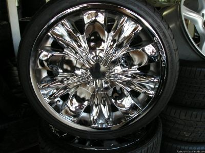 4 20 inch diablo WHEELS AND TIRES atlanta (with shipping available