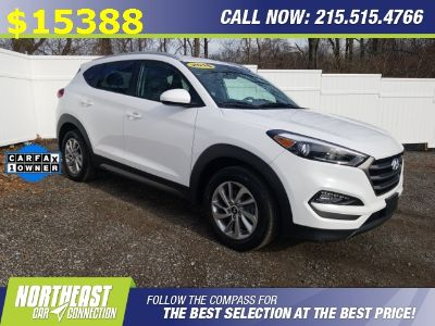 2016 Hyundai Tucson SE (Dazzling White)