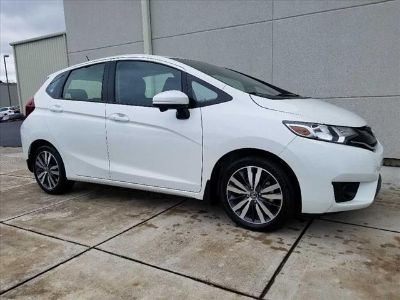 2017 Honda Fit EX (White Orchid Pearl)