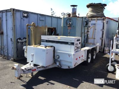 2009 Brooks Brothers Specialty Trailer w/ Cleaver-Brooks Boiler & Multiquip Gen