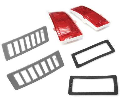 Sell 1970 71 72 Chevelle Rear Sidemarker LENS and BEZEL KIT motorcycle in Douglasville, Georgia, US, for US $89.00