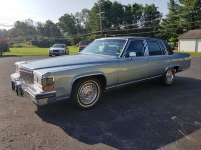 1987 Cadillac Brougham Base (Blue)