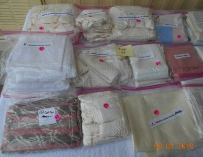 Curtains, Pillow Cases, Protectors - BOX 88