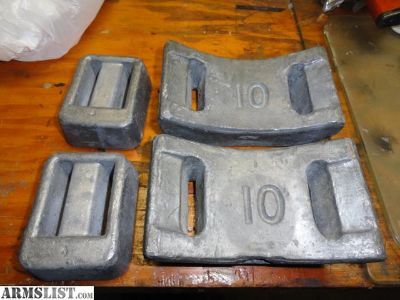 For Sale: Lead Divers Weights Pure Lead