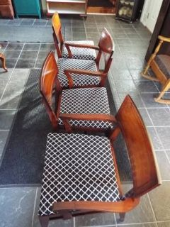 Chairs*Vintage*All Wood*Like New*Red Mahogany