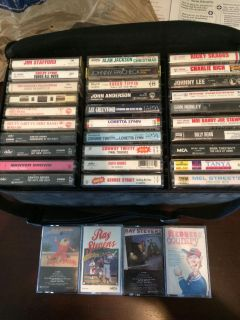 Country cassette tapes