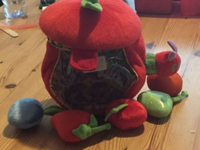 Very hungry caterpillar toy