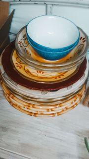 Stack of dishes..make offer